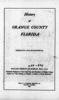 History of Orange County, Florida: narrative and biographical