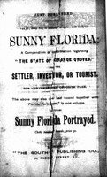Florida portrayed: its sections, climate, productions, resources, etc. : with practical hints to intending settlers