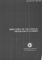 Directory of vocational programs in Florida