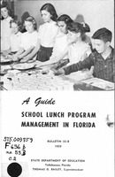 A guide, school lunch program management in Florida