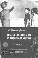 English language arts in elementary schools: a Florida guide