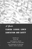 A Guide, Florida school lunch sanitation and safety