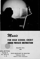 Music for high school credit under private instruction