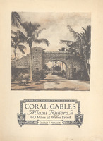 Coral Gables Miami Riveriera 40 miles of Water Front