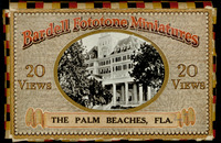 Bardell Fototone Miniatures : 20 views of The Palm Beaches, Florida