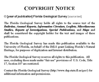 A fossil hunter's guide to the geology of the northern Florida peninsula ( FGS: Open File Report 65)
