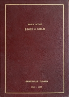 Eagle Scout book of gold