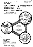 Report of the first annual Vocational, Technical and Adult Educators' Conference