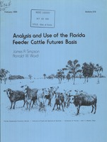 Analysis and use of the Florida feeder cattle futures basis