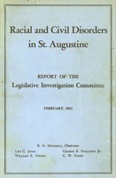 Racial and civil disorders in St. Augustine