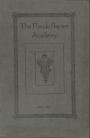 Register of the Florida Baptist Academy, Jacksonville, Florida, with catalog of students