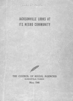 Jacksonville looks at its Negro community