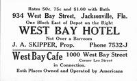 West Bay Hotel [business card]