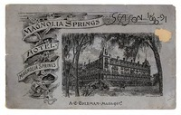 Magnolia Springs Hotel, Magnolia Springs, Florida, on the St. John's River, twenty-eight miles south of Jacksonville