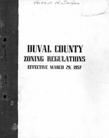 Duval County zoning regulations, effective March 29, 1957