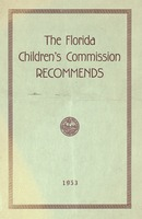 Florida Children's Commission recommends