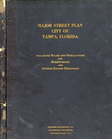 Report on major street planning for city of Tampa, Florida
