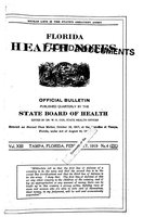 Florida health notes: volume 13 no. 4 (February 1919)