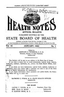 Florida health notes: volume 15 no. 1 (January 1923)