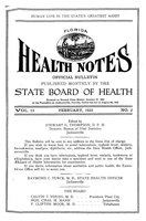 Florida health notes: volume 15 no. 2 (February 1923)