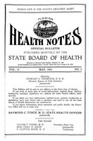 Florida health notes: volume 15 no. 5 (May 1923)