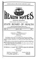 Florida health notes: volume 15 no. 7 (July 1923)