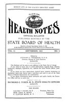 Florida health notes: volume 15 no. 9 (September 1923)