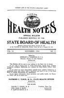 Florida health notes: volume 16 no. 11 (November 1924)