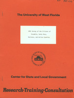 1981 survey of citizens of Escambia, Santa Rosa, Okaloosa, and Walton Counties