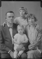 [Harry L. Burnett and family.]