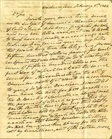 1832 Letter from President Andrew Jackson to William Donelson