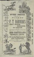 P.T. Barnum's Great Museum, Menagerie & Caravan: June 6, 1871