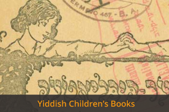 Yiddish Children's Books